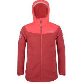 TROLLKIDS Bergen Jacket Girls mystic red/coral